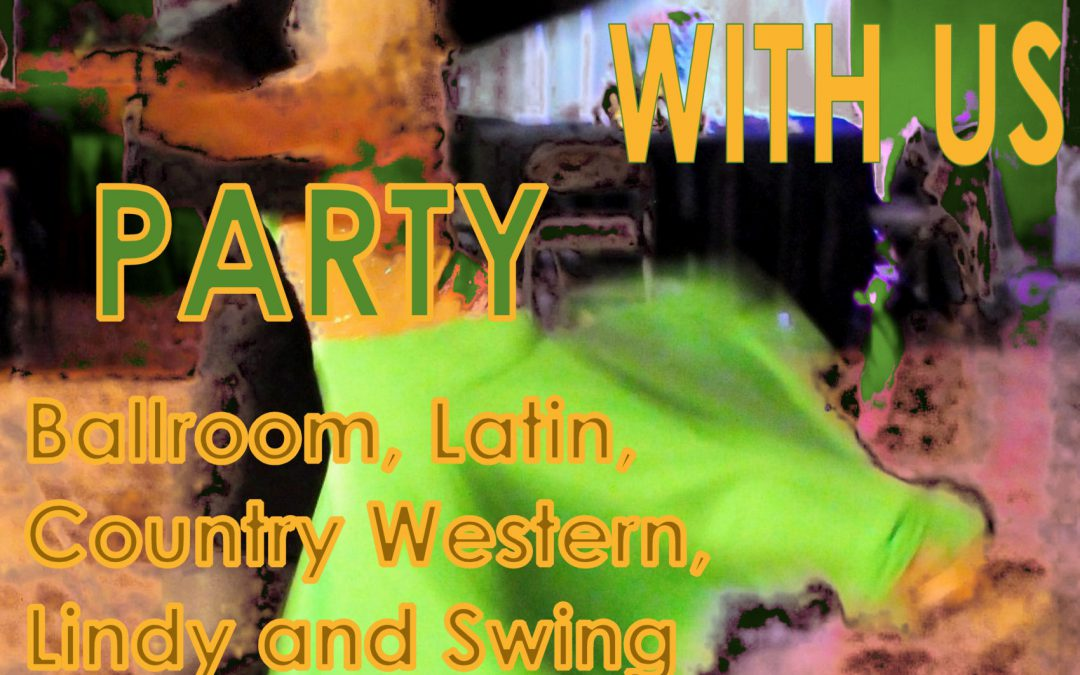 """St. Patrick's Day """"COME DANCE WITH US"""" Ballroom, Latin, Country-Western & Swing – SAT, Mar 17, 2018"""
