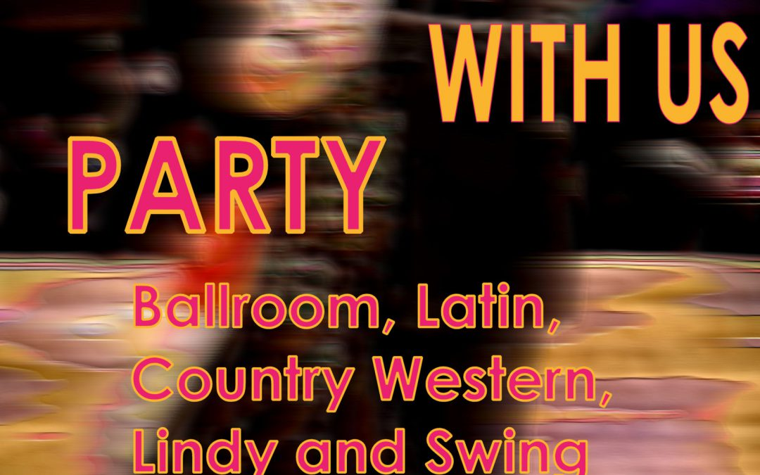"""COME DANCE WITH US"" Ballroom, Latin, Country-Western & Swing Social Dance – SAT, April 21, 2018"