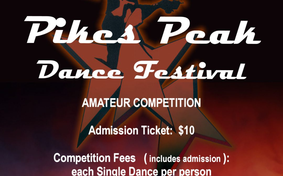 New Dates for PIkes Peak Dance Festival 2018!!!