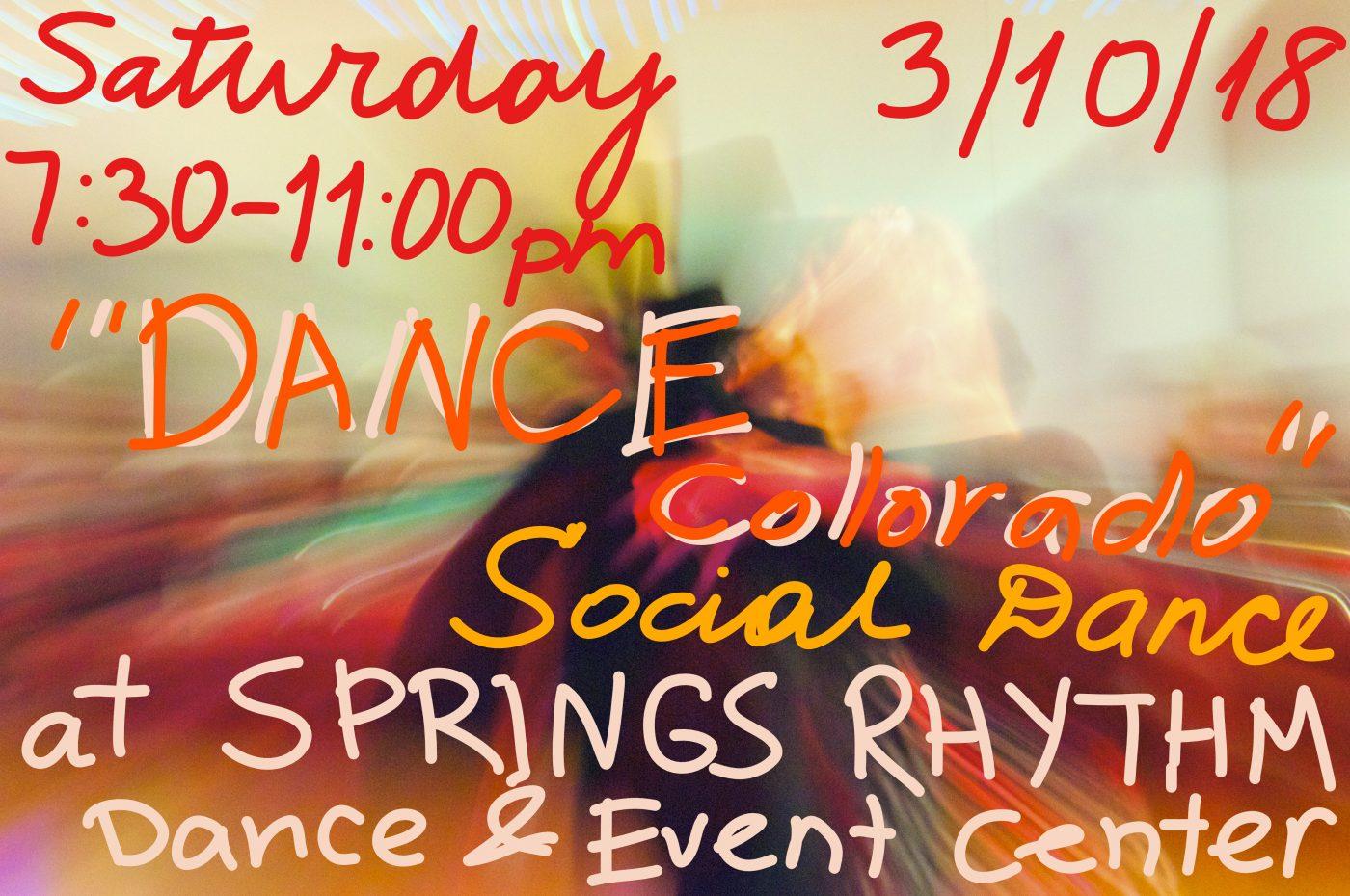 DANCE COLORADO Social dance