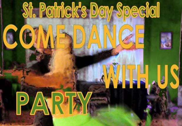 "St. Patrick's Day ""COME DANCE WITH US"" Ballroom, Latin, Country-Western & Swing – SAT, March 16, 2019"