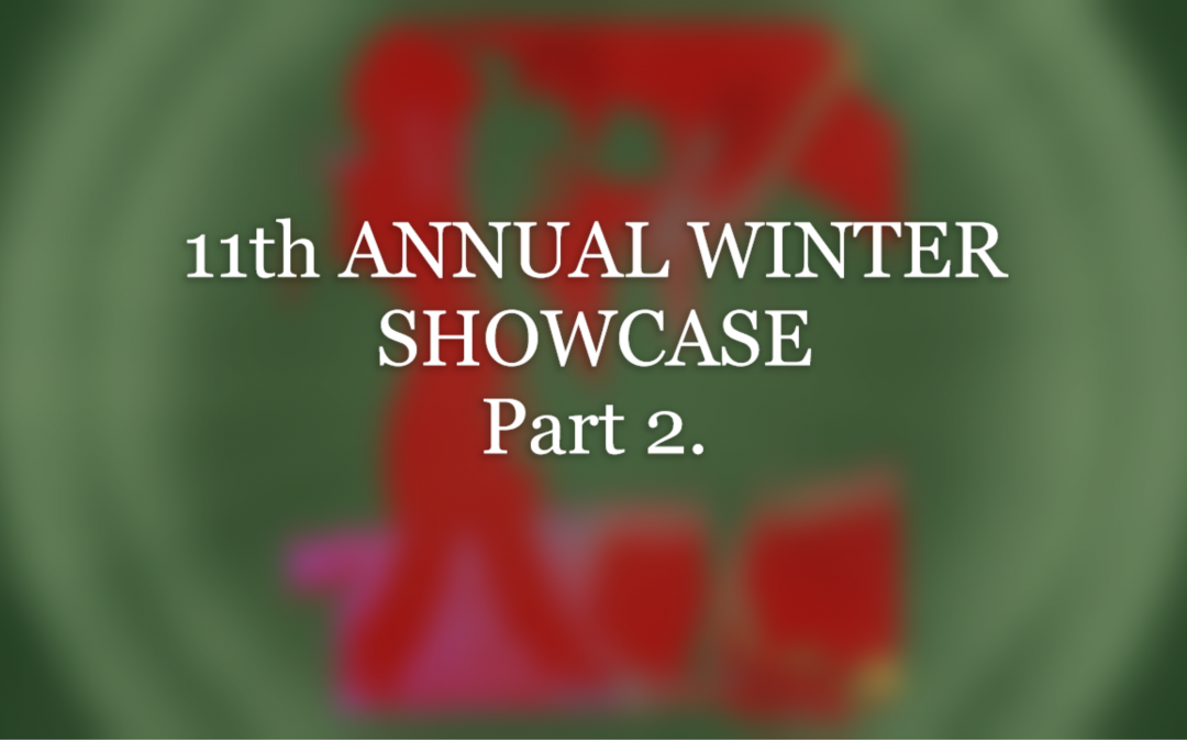 Behold spectacular Broadway Theme at the 11th ANNUAL WINTER SHOWCASE Part 2. on 12/21/19.