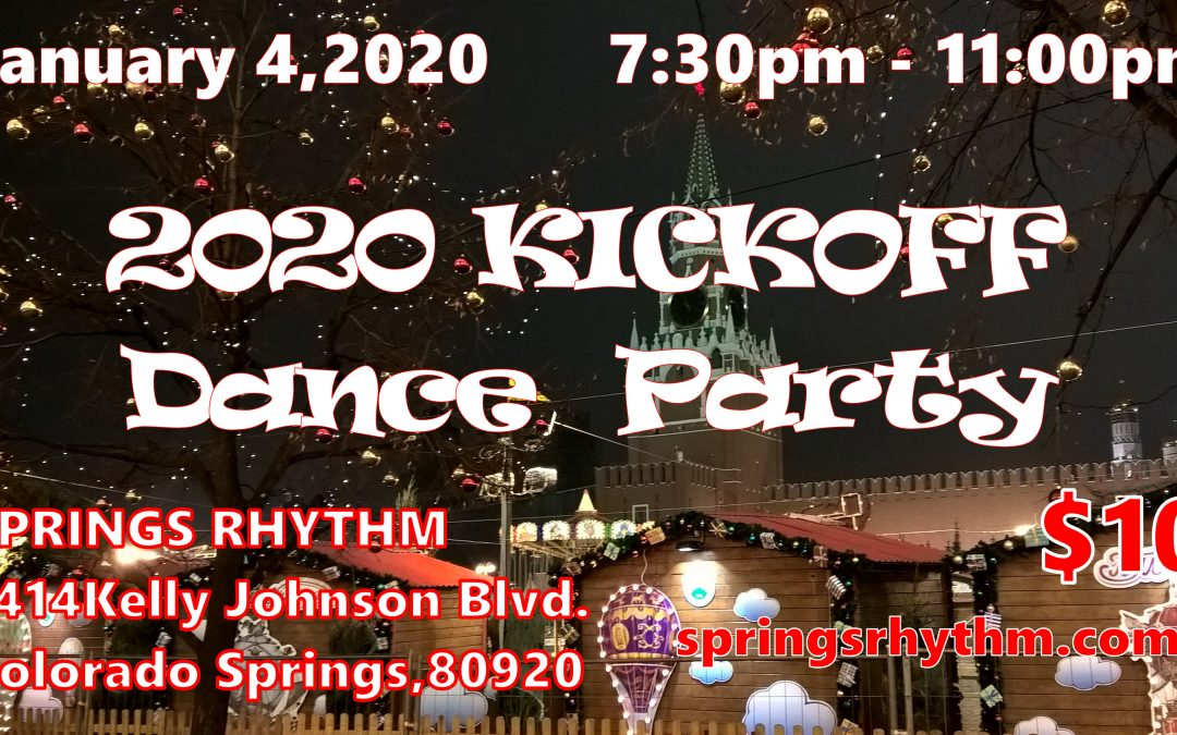 """2020 KICKOFF"" Ballroom, Latin, Country-Western & Swing Party"